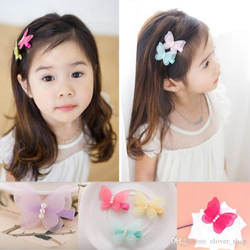 Free Delivery Girls Baby Kids Children Cute Hair Clips