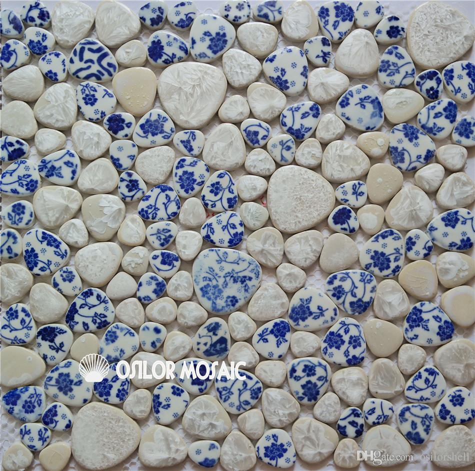 Decoration Carrelage Mural Salle De Bain acheter mosaïque en céramique motif irrégulier pour salle de bain et  cuisine décoration carrelage mural carrelage 4 mètres carrés par de 505,11  € du