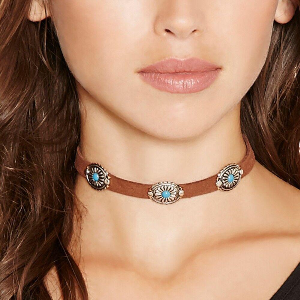 Böhmen Wind Südkorea Samt Gürtel Halskette Halskette Schlüsselbein Retro Harajuku Choker