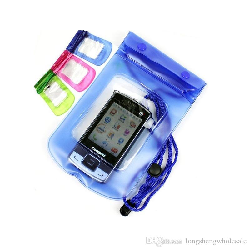Wholesale Free Shipping Waterproof Camera Pouch Dry Case Bag Ski Beach For Camera Mobile Phone Waterproof Bag