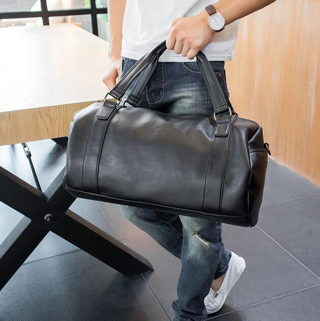 Fabrik Großhandel Marke koreanische männliche Tasche einfachen Mann Tasche einfachen Mann tragbare große Kapazität Schultasche Freizeit Geschäft Mens Taschen