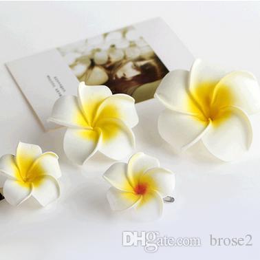 Приморский пляж праздник свадебные украшения для волос Корея цветок пузырь яйцо цветок шпилька края клип головной убор оптом первый цветок