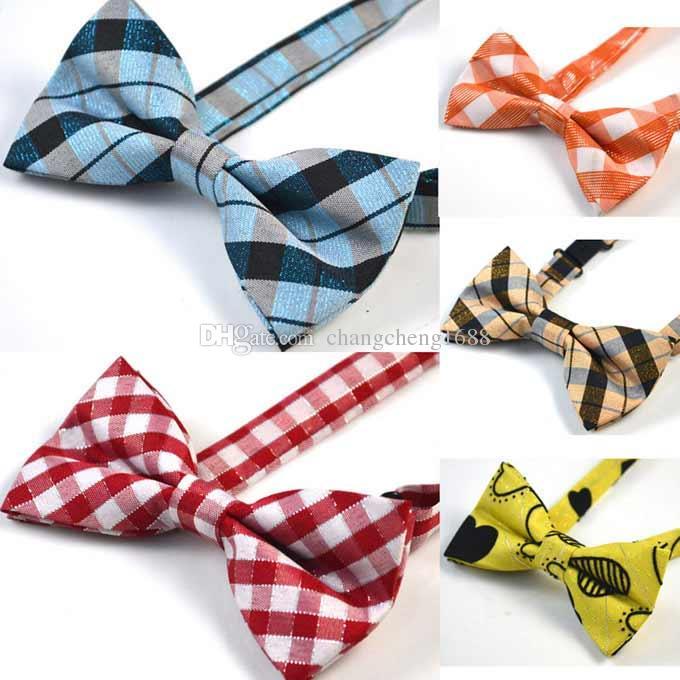 129 stil barn bowties baby barn pojkar mode båge slipsar mode bowtie med bröllopsfest slips gratis frakt kan välja färg