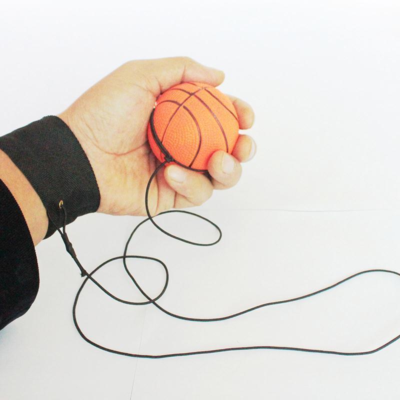 Toptan-Forfar Yeni Açık Dönüş Sünger Lastik Top Elastik Spor Naylon Dize Çocuk Çocuk Açık Aktivite Oyuncak Çocuk Hediyeler