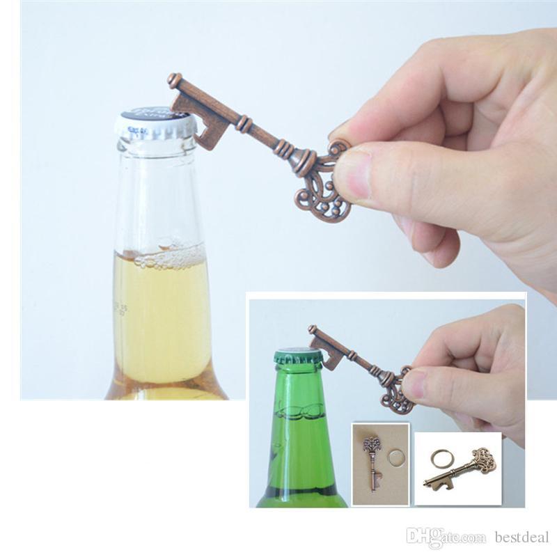 Neuheit Schlüsselbund Key Design SUCK-UK Flaschenöffner Schlüsselring Bar Bier Flaschenöffner Unisex dekorative Schlüsselbund Geschenk Öffnungswerkzeuge