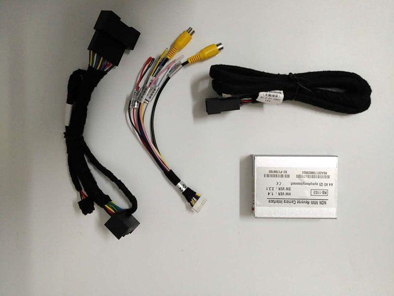 Адаптер интерфейса камеры заднего вида RS-1103 для автомобилей Audi A4 A5 Q5 не MMI система с активными рекомендациями парковки
