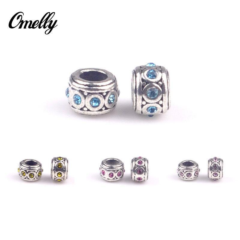 Großes Loch Perlen für Pandora Charm Armbänder ilia Biagi Armbänder Metalle Lose Perlen Schmuck DIY Armband Wholes In Bulk Buy