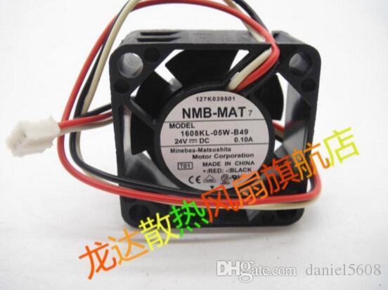 Original echte NMB-MAT 1608KL-05W-B49 24 V 0.10A 40 * 40 * 20 MM 3 linie industrielle steuerung inverter fan
