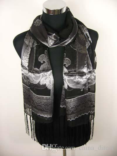 Womens Ladies Silk scarf Shawl SCARF scarves Scarf NEWEST 12pcs/lot #1426