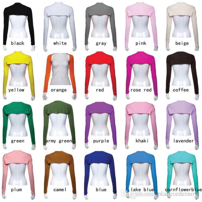 Hijab Muslim Einteilige Ärmel Arm Abdeckung Shrug Bolero Hayaa Multicolor Nice