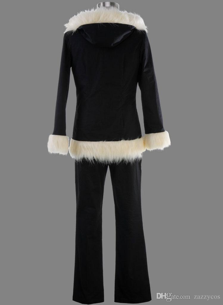 Orihara Izaya Vogue Black Zipper Hoodie Coat Jacket Cosplay Costume DuRaRaRa!