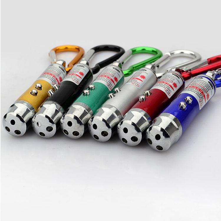저렴 한 미니 3 in1 LED 레이저 빛 포인터 열쇠 고리 손전등 미니 토치 손전등 돈 탐지기 여러 가지 빛깔의