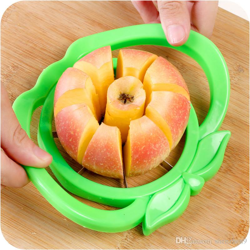 2017 Corer Slicer Easy Cutter Cut Fruit Knife Cutter for Apple Pear Free Shipping OTH321