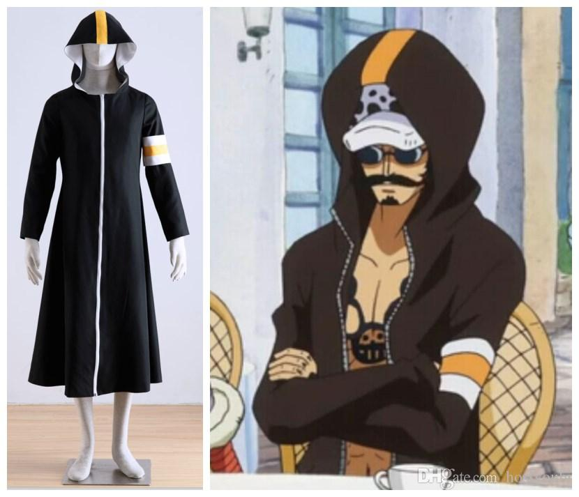 Yüksek kaliteli TEK PARÇA Trafalgar Law coat cosplay kostüm