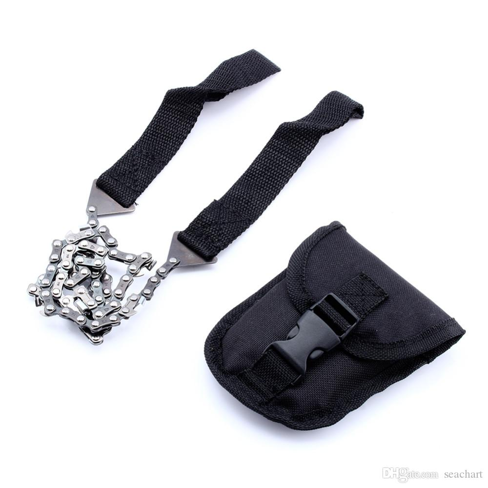 Image result for Portable Pocket Chainsaw Outdoor Survival Tool Camping & Hiking