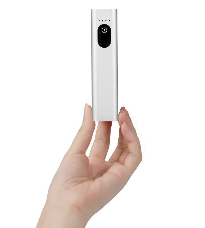 1080P HD Portable Mini Hidden Spy Camera 2000mAh Power Bank Video Recorder S100