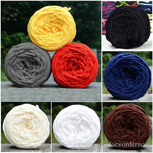 Красочный шарф краситель ручной вязки пряжа для ручного вязания мягкого молока хлопчатобумажной пряжи толстой шерстяной пряжи гигантское шерстяное одеяло
