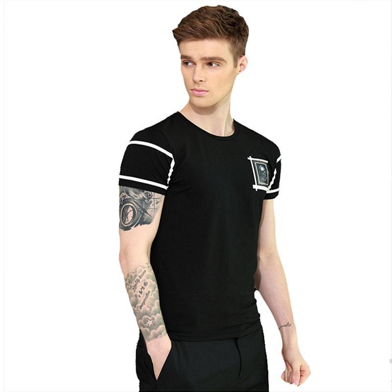 EQ 남성 반팔 T T 셔츠 좋은 유연성, 편안한와 2017 새로운 스포츠웨어,