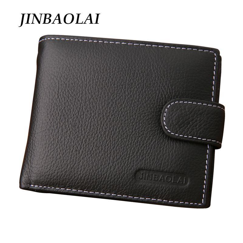 Gros- Hommes Portefeuilles Homme véritable Portefeuille en cuir Designer Mens Wallet avec porte-monnaie carte de poche pour les hommes carteira
