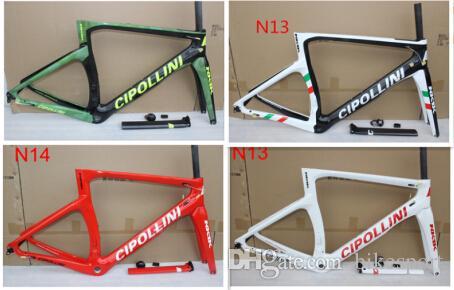 Freies Verschiffen-chinesischer Carbon-Straßen-Rahmen 2017 neueste Cipollini NK1K Carbon-Fahrrad-Rahmen T1000 Carbon-Rahmen BB68 / BB30 bici DA Corsa