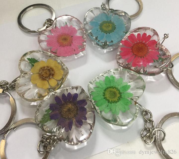 woman keychain sunflower keychain. 7 pcs safety keychain