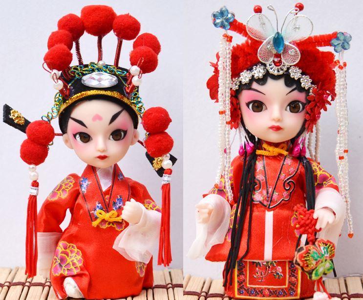 Pechino Juan Q versione del fumetto ornamenti bambola caratteristica di Pechino Opera Facebook il Palazzo Imperiale Memorial regalo di Natale