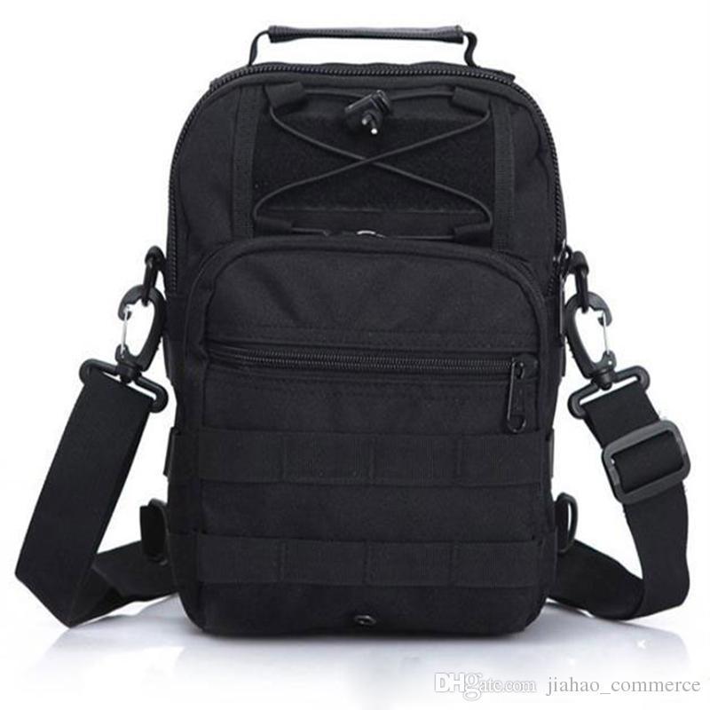 전술 플라이 낚시 캠핑 장비 야외 스포츠 나일론 넘어 가고 가슴 팩 크로스 바디 슬링 단일 어깨 가방 20PCS DHLFedex