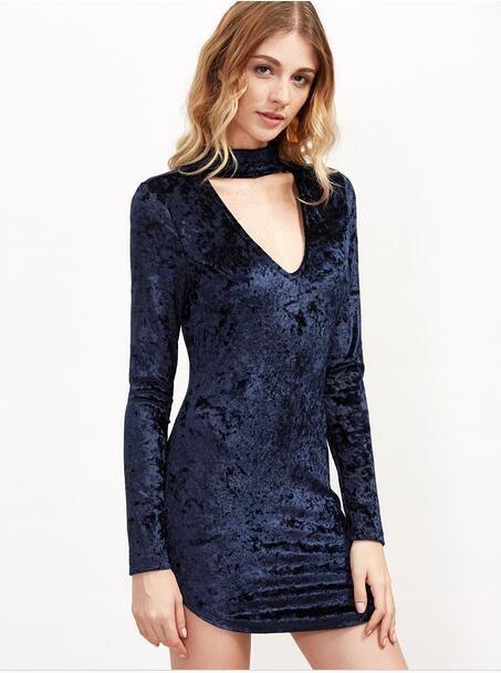 Brand cheap prom dresses long matte beach wedding dresses luxury Blue pleuche guest dress Sexy club condole belt unlined upper garment