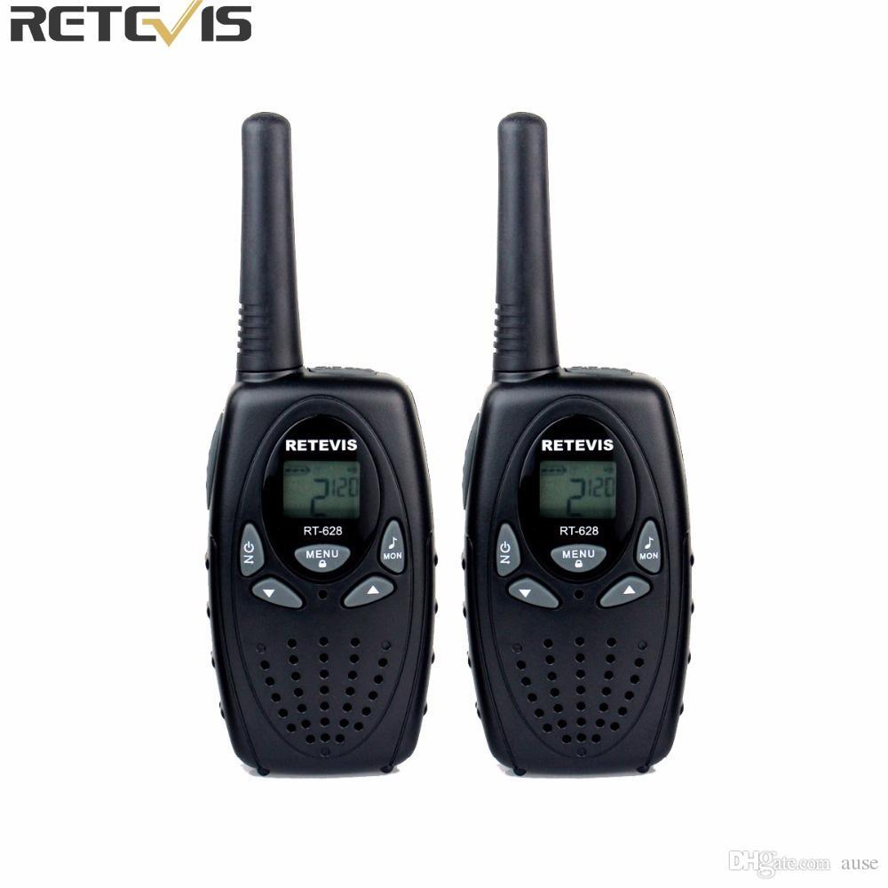 2 pcs Retevis RT628 Enfants Talkie Walkie Mini Radio 8CH 0.5 W UHF 462-467 MHz Enfants cb Portable Jouet Radio Communicateur A1026