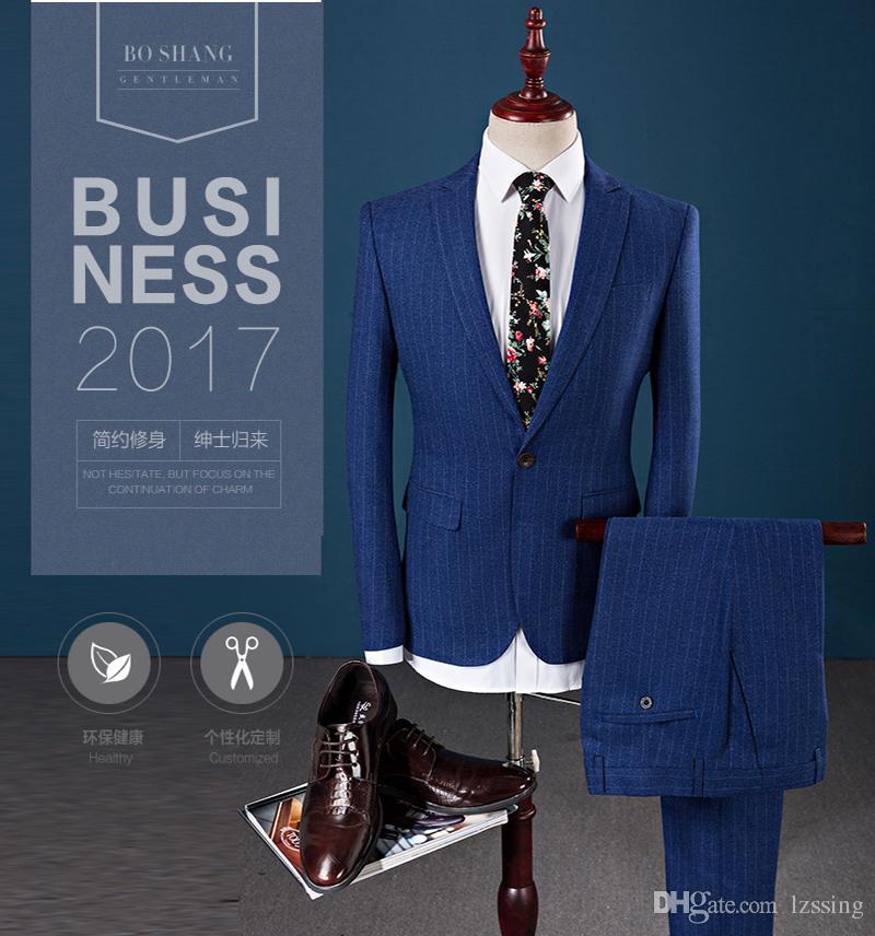 Новые ближайшие Господа дизайн бизнес 3 шт костюм Slim Fit платье Свадебные костюмы для мужчин L-930