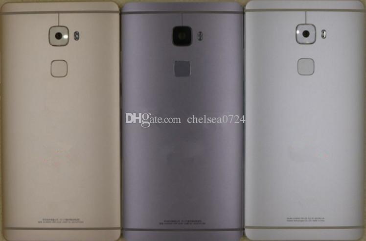 Для замены Huawei Mate S Запчасти задняя крышка батарейного отсека Корпус + Датчик касания ID + Боковые кнопки + Вспышка объектива