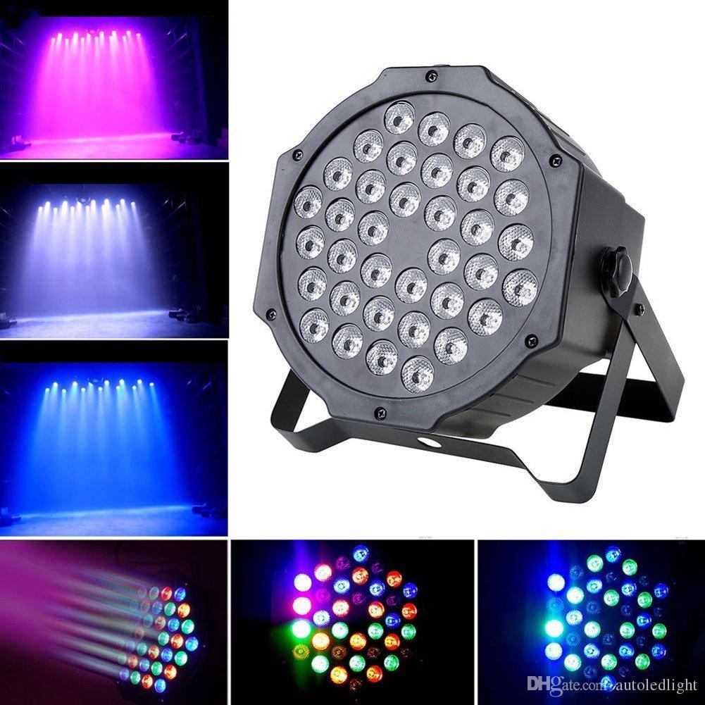 36W LED Stage лазерный свет DJ Par Свет RGB DMX512 Auto / Sound Активированный для диско DJ клубы KTV Party Bar