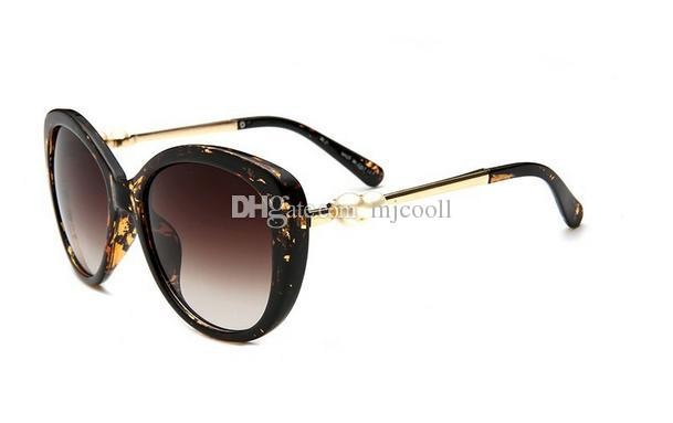 New Pearl großen Rahmen Sonnenbrillen 5339 Mode Sonnenbrillen Frauen
