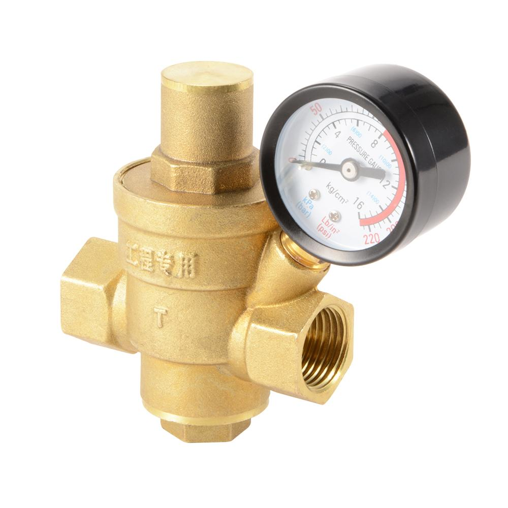 water pressure regulator location