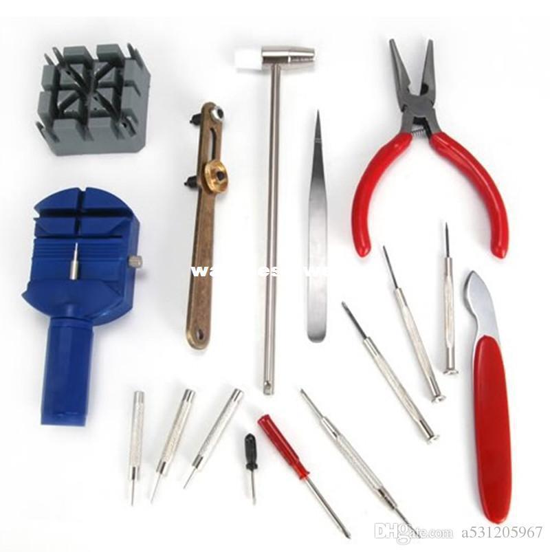 Wholesale-Freeshipping 16 parça izle araçları seti watch407 onarmak için araçları ile donatılmış masa araçları Fix