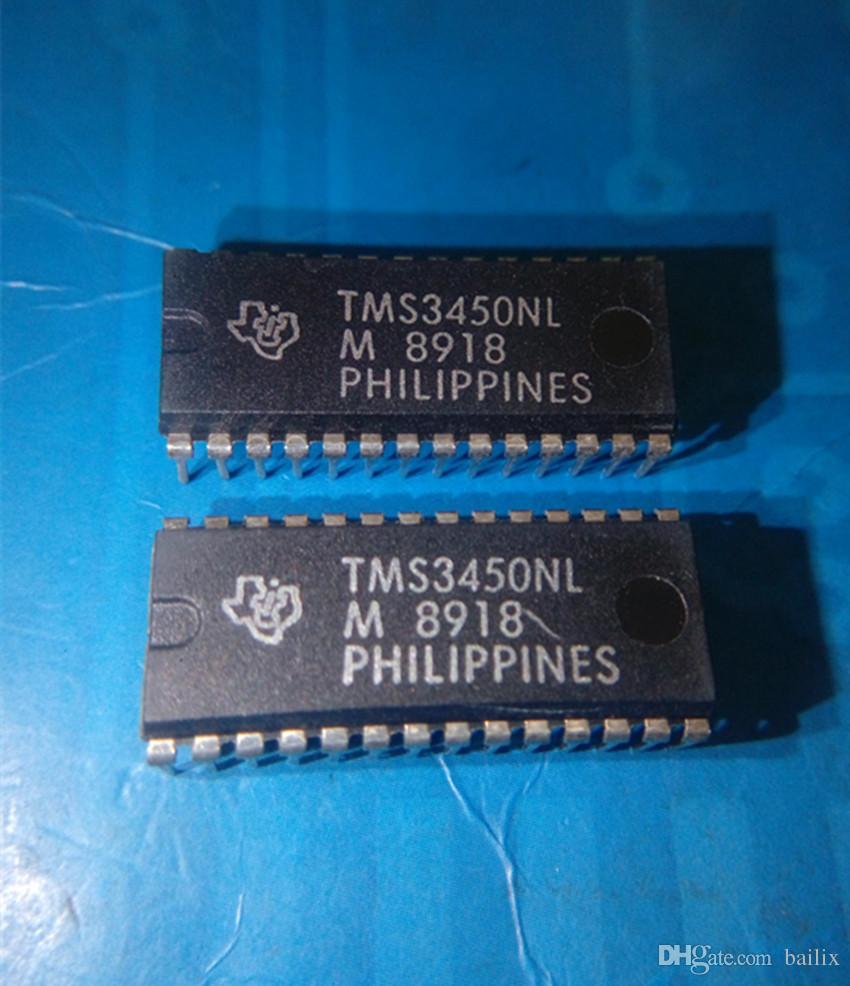 All'ingrosso-Libero 5 pezzi lotto 3450 TMS3450 TMS3450NL DIP28 parti elettroniche in magazzino nuovo e originale IC