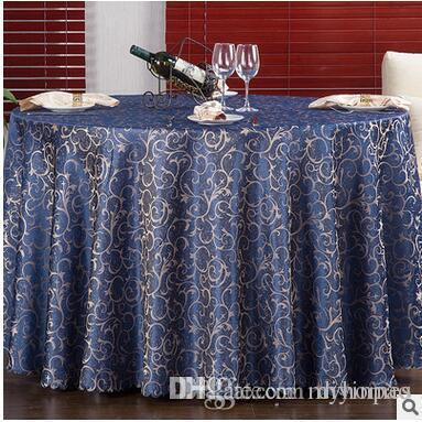 Table Cover Round for Banquet Wedding Party Decoration Tables Satin Fabric Table Clothing Wedding Tablecloth Home Textile