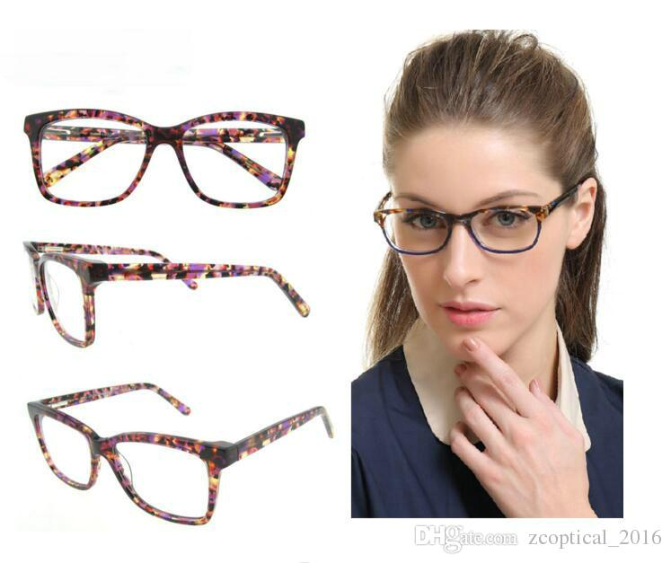 Eyeglasses With Floral Design Quality Glasses For Stylish Design ...