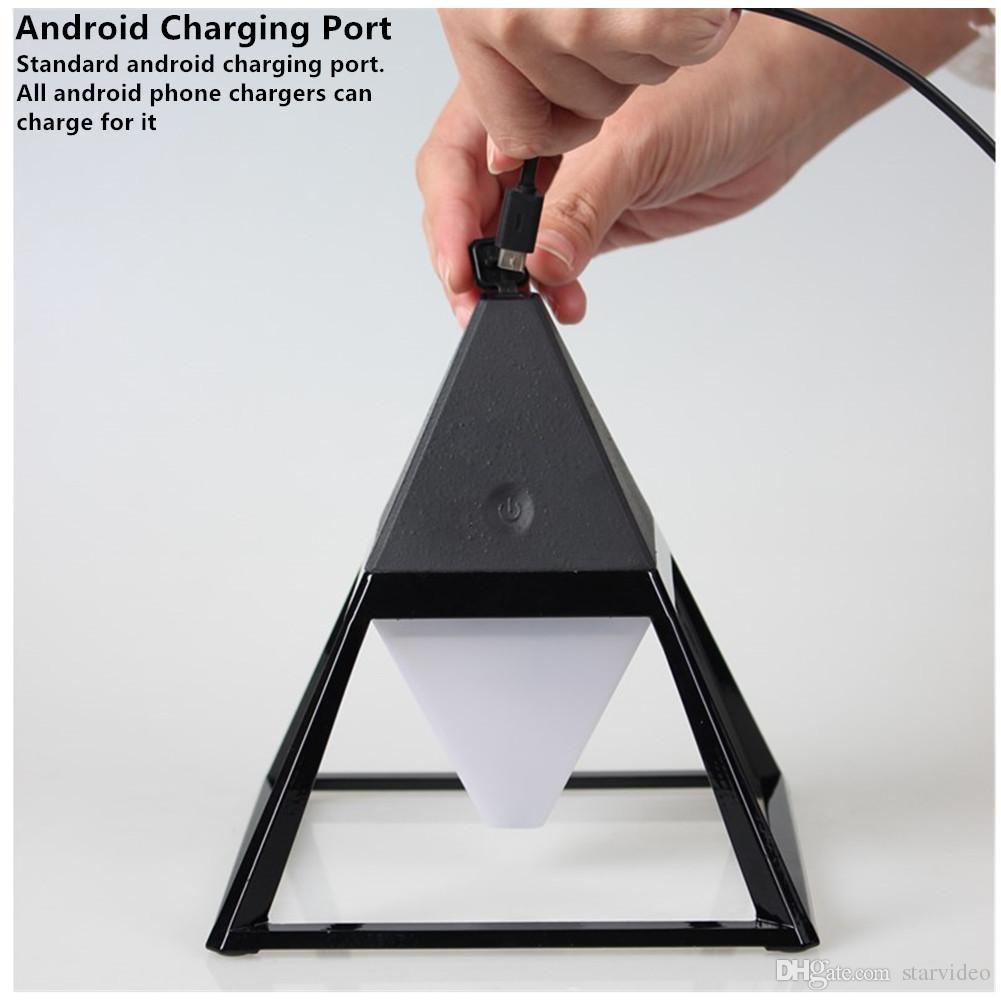 Clamp Desk Lamp 2000mah On Home Lighting Waterproof Wood Agrain Desktop Usb