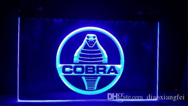 Cobra bar pub club 3d signs led neon light sign home decor crafts
