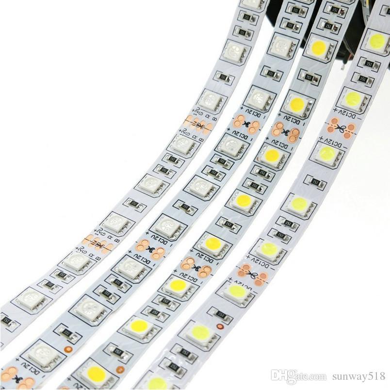 5050 LED RGB-Streifen Lichter 12V wasserdichte LED-Seilbeleuchtung Streifen 5m 300LEDs für Weihnachten KTV Bar Beleuchtung