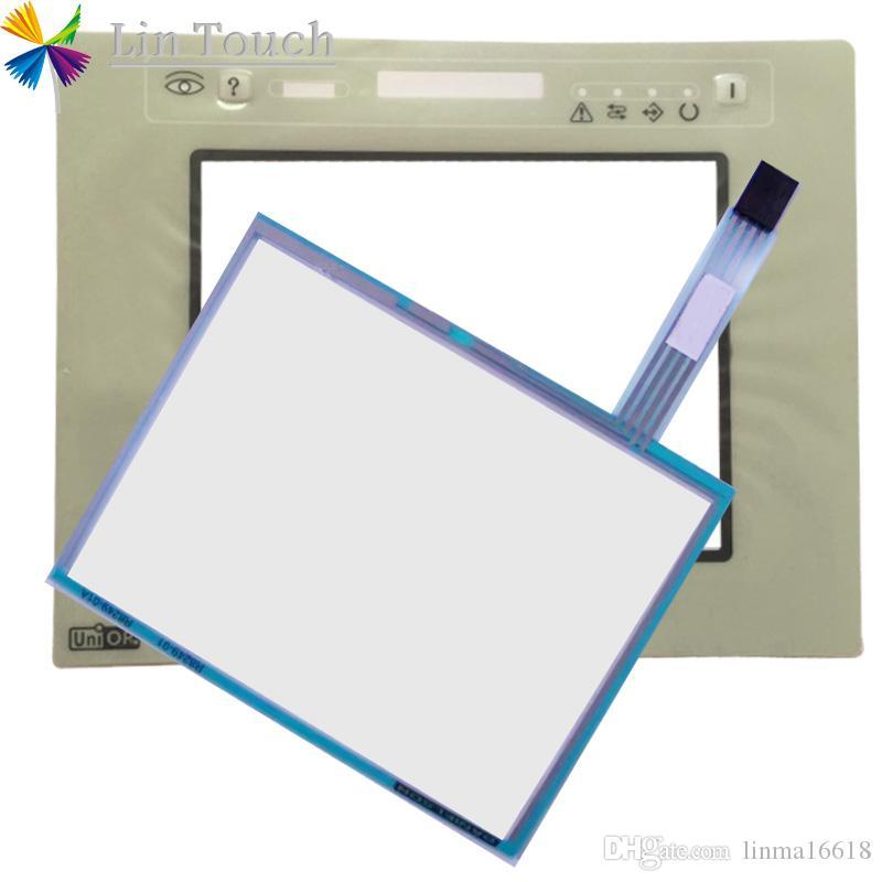 NUOVO EXOR-UNIOP ETOP05 ETOP05-0045 HMI PLC Touchscreen e frontale Etichetta Film Touch screen AND Frontlabel