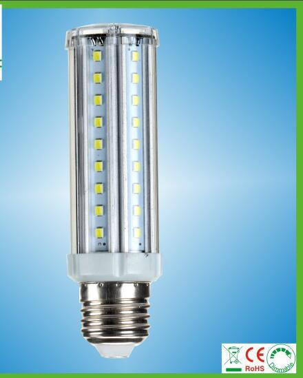 Free Shipping 5W Aluminunm LED Corn Bulb Light SMD2835 LED chips , Isolated Driver,Aluminum Housing AC220-240V input
