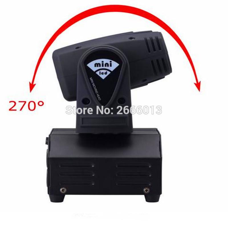 Миниый свет наивысшей мощности светового луча Луча Луча Сид 10W RGBW Moving головной с профессионалом для диско DJ партии KTV