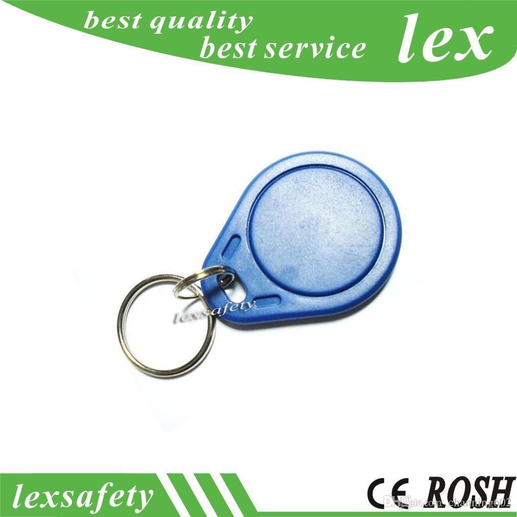 100pcs / lot FM11RF08 Fob clé lisible et inscriptible ABS 13.56mhz Fob clé 1K RFID