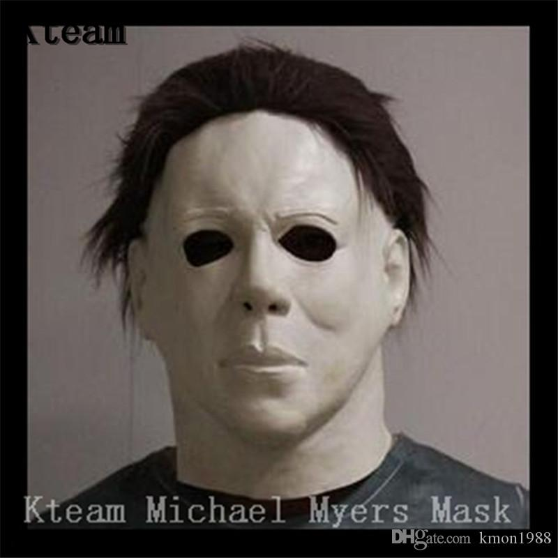 2018 New Hot Sale Movie Cosplay Horror Michael Myers Mask Horror Movie  Halloween Cosplay Adult Latex Party Face Mask Scary Film Mask Toy Canada  2019