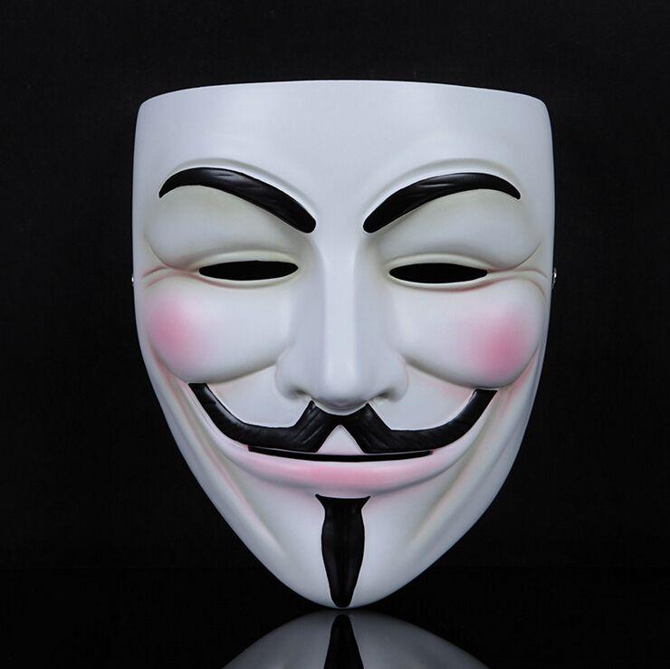V For Vendetta Mask Guy Fawkes High Grade Resin Full Face Masks