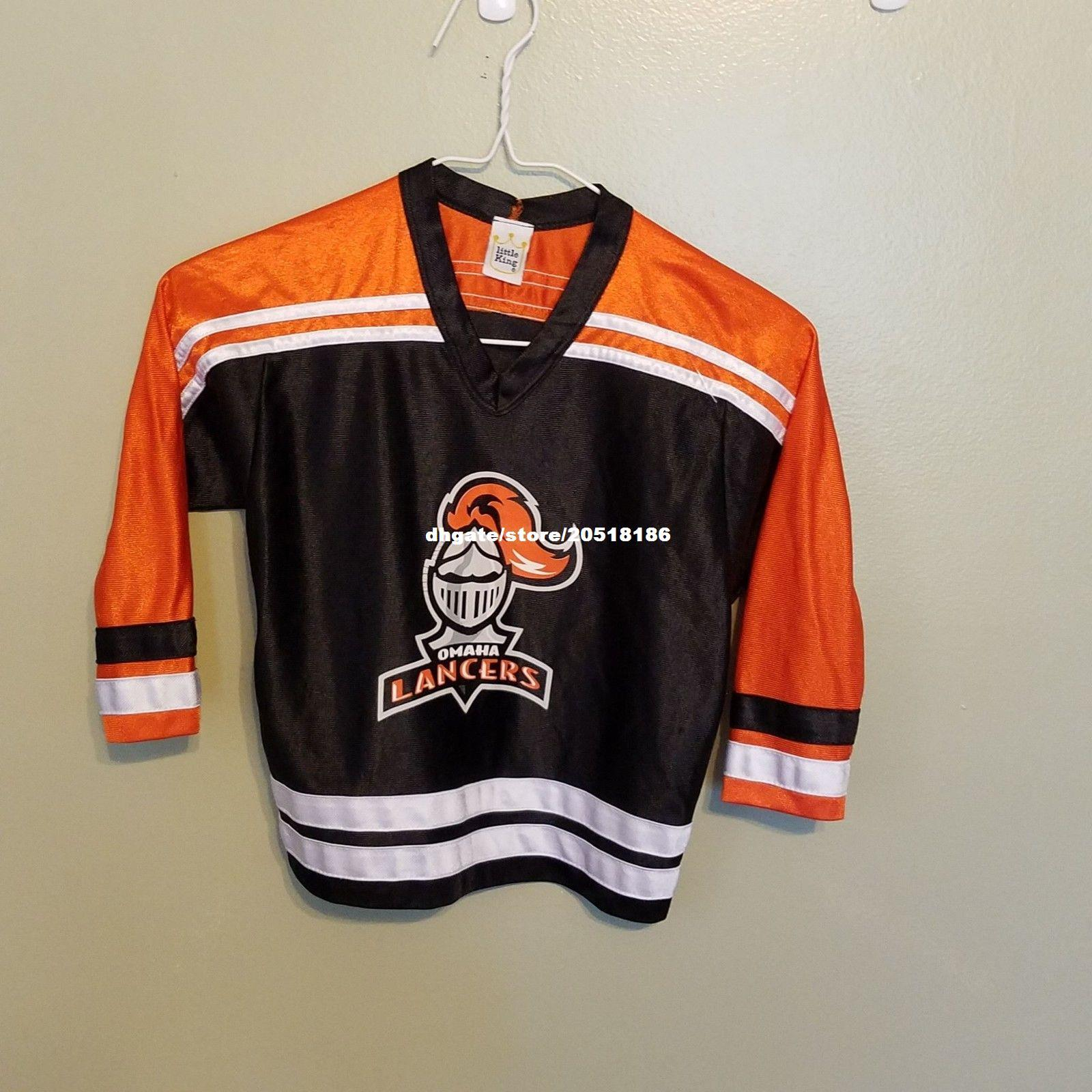 reputable site 037f9 23acf 2019 Cheap Custom OMAHA LANCERS JERSEYS TODDLER Stitched Men'S Hockey  Jersey From Nfljersey1, $26.5 | DHgate.Com