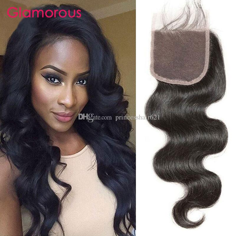 Glamorous Virgin Remy Human Hair Lace Closure