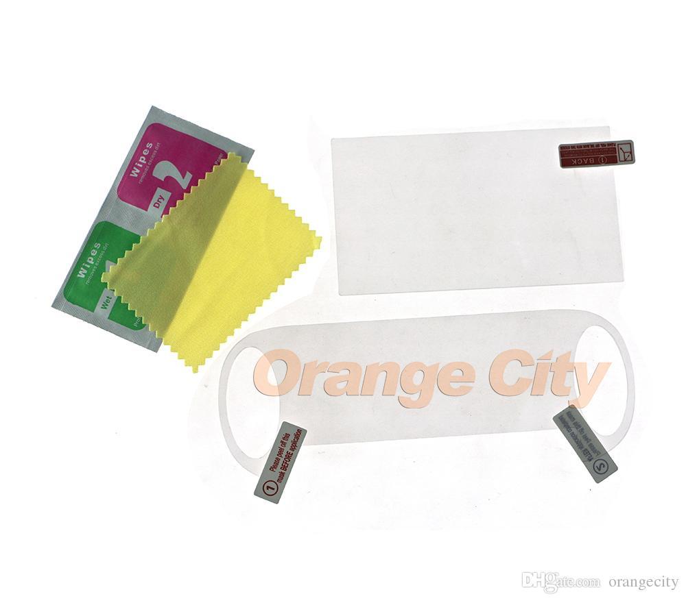 Hote New 9H Glas Displayschutzfolie (5 Zoll LCD) Anti Film + Rückseite Schutzfolie für PSV PS VITA PSVITA 1000